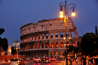 The Colosseum, Rome Italy #656